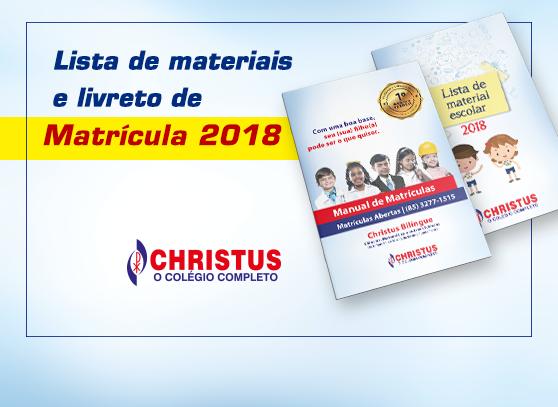 Matrículas – 2018