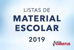 Listas de Material para 2019