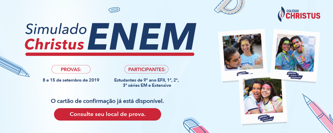 Resolução Simulado ENEM 2019